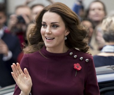 The Duchess of Cambridge talks about the struggle of leaving Prince George at school