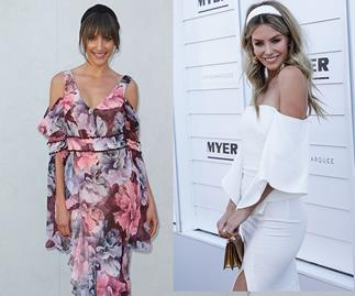 Rachael Finch and Jennifer Hawkins