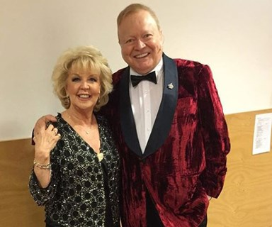 Australia's golden couple Bert and Patti Newton celebrate 43 years of marriage