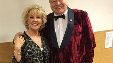 Australia's golden couple Bert and Patti Newton celebrate 43 years of marriage