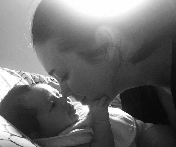 "Megan Gale has taken to Instagram to celebrate six weeks with her new daughter, Rosie May Dee Hampson.   Alongside a black-and-white photo of herself and her little one, she wrote: ""Baby girl you are such a special little soul already teaching us so much and providing so much joy. We're getting our first smiles from you too and they are just SO precious! It's been an action packed 6 weeks and boy life has become a helluva lot busier but life has also become so much better and fulfilling since you arrived. Loving you more and more with every passing day my girl ❤️🌹"""