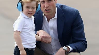 "Prince George left ""very envious"" of his dad for the cutest reason"