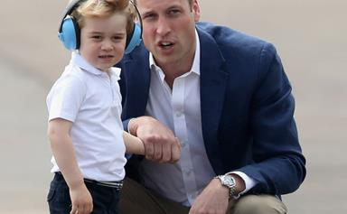 """Prince George left """"very envious"""" of his dad for the cutest reason"""