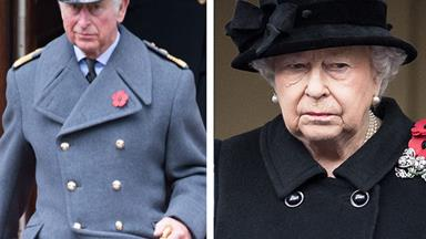Prince Charles steps in for The Queen on Remembrance Day