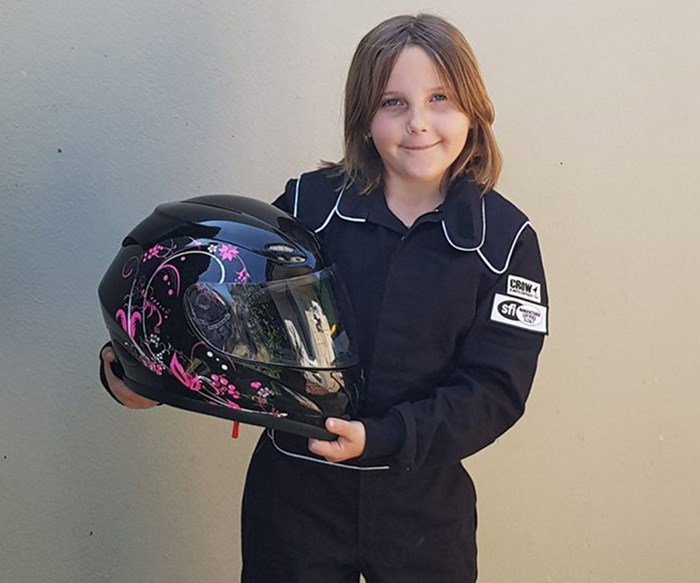 Outrage as eight-year-old Perth girl dies in horrific kid's drag racing crash