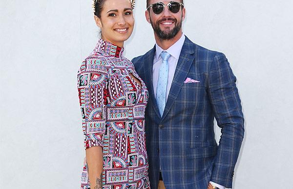 Kris Smith and Sarah Boulazeris