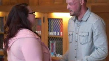 Woman meets man who received a face transplant from her late husband