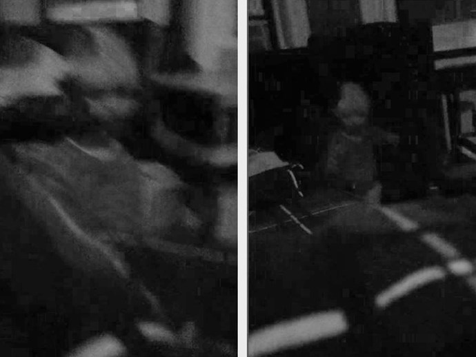 Man captures image of ghost haunting his apartment and we're terrified