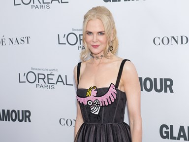FINALLY, Nicole Kidman recognises Bella and Connor in a new speech