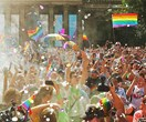 Rainbow styling! All the best photos as Australia rejoices the same-sex marriage vote