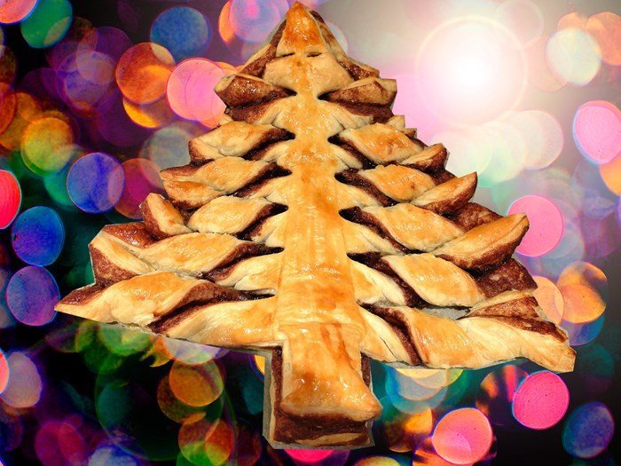 How to make the Nutella Christmas tree