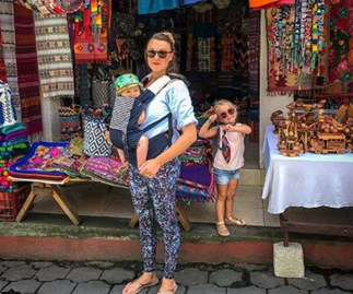 Mum uses maternity leave to travel the world with a newborn and 3-year-old in tow