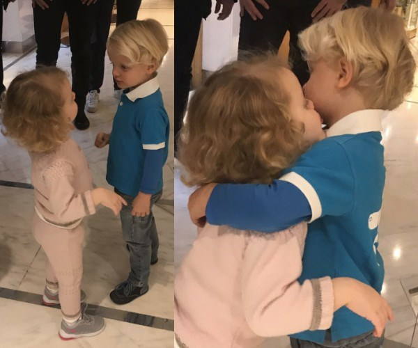 Princess Charlene of Monaco has celebrated a very big milestone with her little ones, Prince Jacques and Princess Gabriella. Taking to Instagram, the proud mum shared a sweet photo of the two-year-old twins after their first haircut. We just can't get enough of those blonde ringlets!