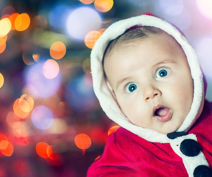 Enchanting baby names inspired by the Christmas season