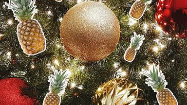 Would you replace your Christmas tree with a... Pineapple?