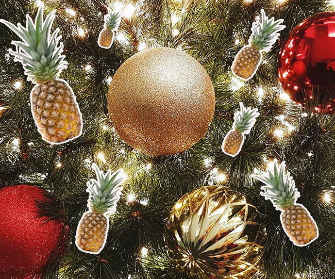 Pineapple Christmas trees
