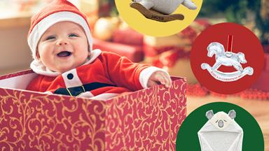 Gorgeous gifts for baby's first Christmas
