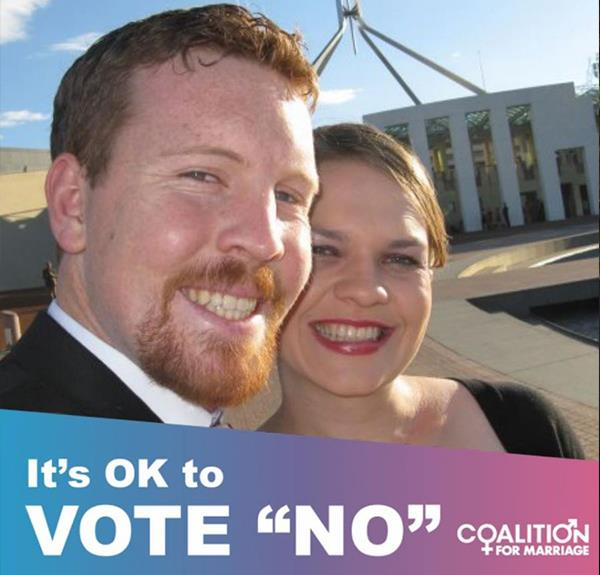 Canberra couple who vowed to divorce if marriage equality was legalised do a backflip