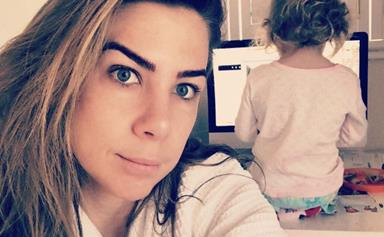 Kate Ritchie shares the first photo of her daughter Mae on social media