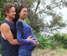 Beach daze! How pregnant Turia Pitt is spending the last weeks of her pregnancy