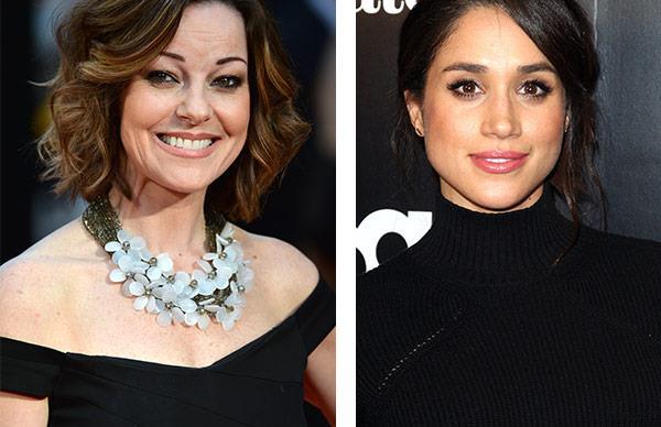 Ruthie Henshall and Meghan Markle