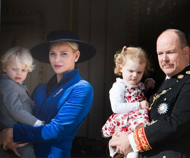 Prince Albert and Princess Charlene's twins win hearts at National Day celebrations