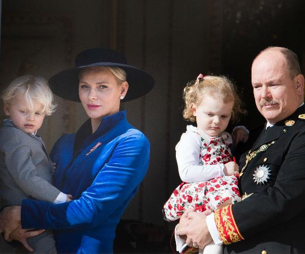 Prince Albert, Princess Charlene, Prince Jacques, Princess Gabriella
