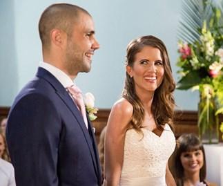 Erin Bateman and Bryce Mohr