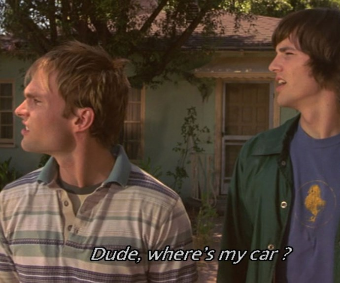 A real life 'Dude, where's my car?' situation