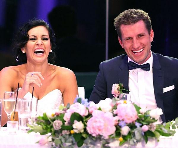 Mark Hughes and Christie Jordee
