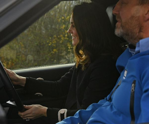By all accounts, Kate's off-road driving was very impressive!