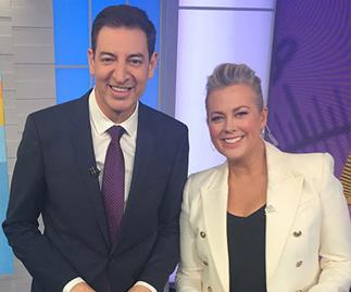 Sam Armytage and Basil Zempilas