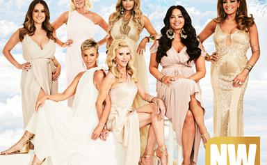 "Real Housewives Of Melbourne Gina Liano tells: ""I Had To Drag Venus Out Of Bed!"""