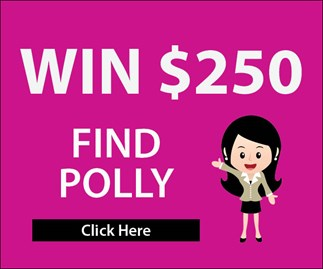 Find Polly Puzzler to win $250!