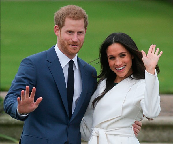 She's already got the royal wave down pat! The couple will share more details on their romance in an upcoming joint interview.