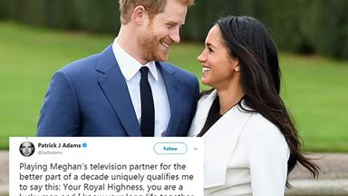 Suits stars react to co-star Meghan Markle's engagement to Prince Harry