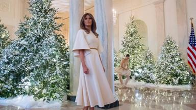 The first Trump White House Christmas is a next level festive display