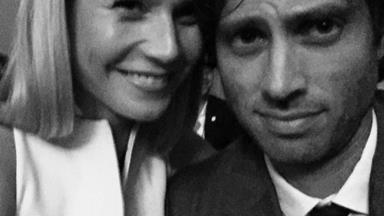 Gwyneth Paltrow and Chris Martin have brunch with her rumoured new fiancé Brad Falchuk