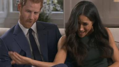 Could they be any cuter? This candid new footage of Prince Harry and Meghan Markle is just adorable