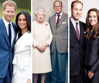 Prince Harry, Meghan Markle, The Queen, Prince Philip, Prince William, Duchess Catherine