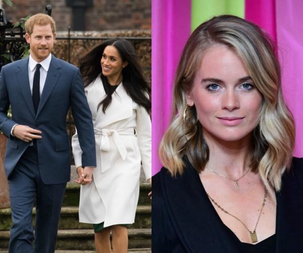 Prince Harry, Meghan Markle, Cressida Bonas