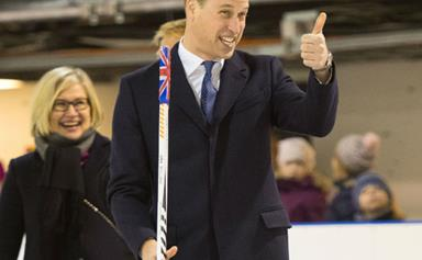 Prince William reacts to Harry's engagement news in the most hilarious way