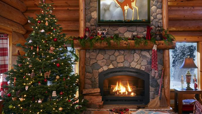 Amazing images from inside Santa's home