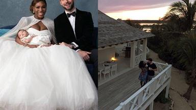 Inside Serena Williams and Alexis Ohanian's luxury Bahamas honeymoon