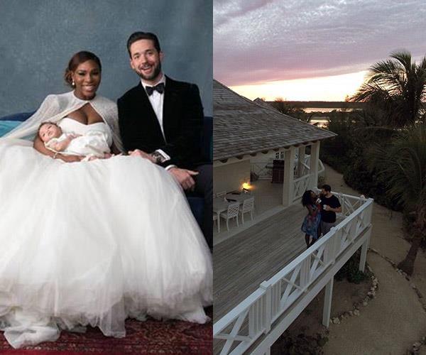 Serena Williams and Alexis Ohanian's honeymoon