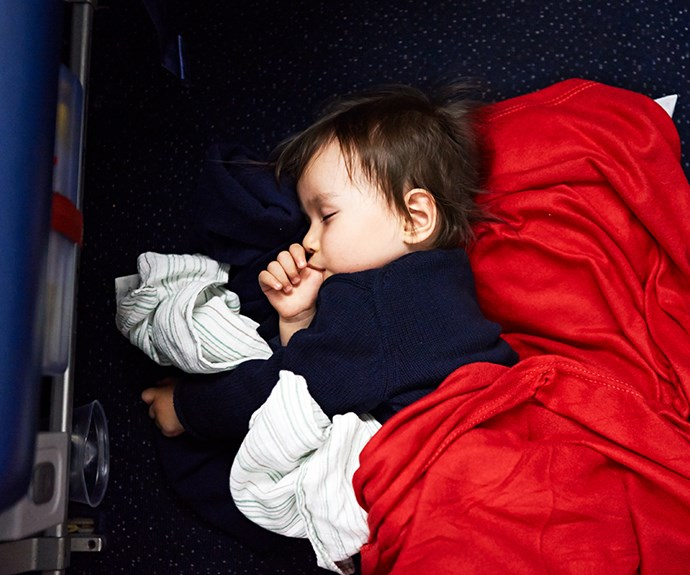Virgin Australia welcomes kids' sleep devices on flights