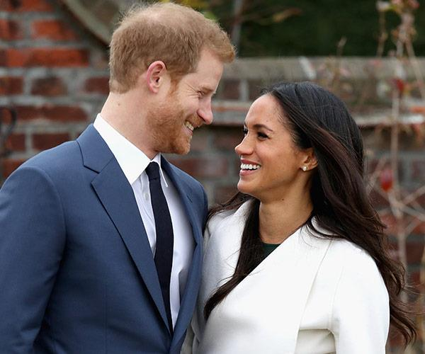 Which is totally A-OK... Especially when he looks at Meghan like this!
