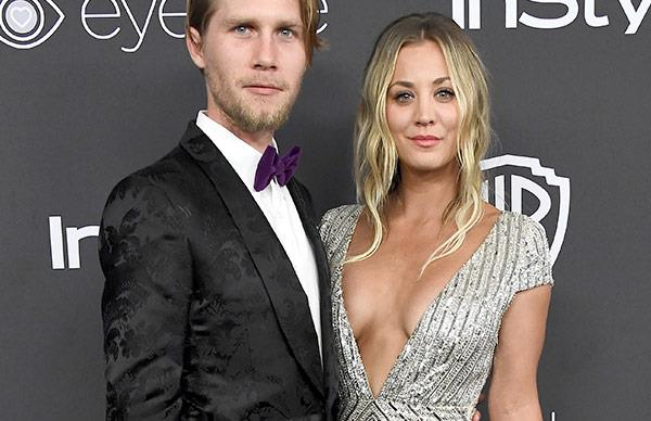 Kaley Cuoco and boyfriend Karl Cook