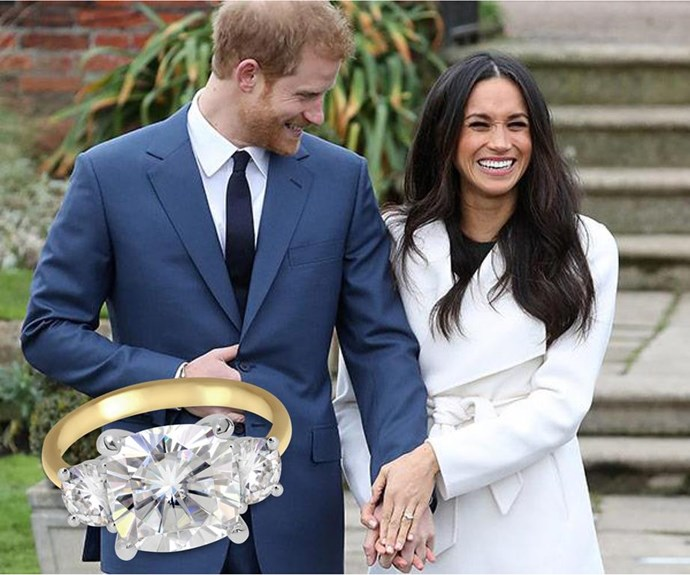 Win a replica of Meghan Markle's Ring!