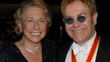Elton John's mother dies just months after ending their eight-year feud